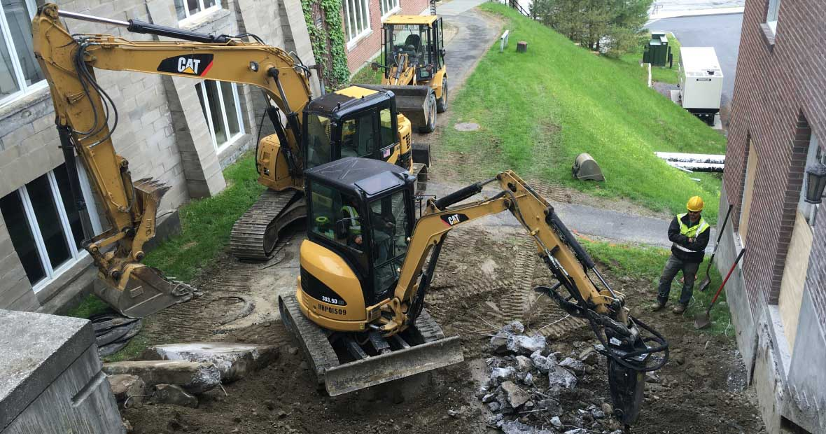 Site Demolition Services Vermont - Dubois Construction